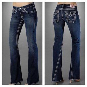 True Religion Jeans Disco Joey Big T EUC sz 27